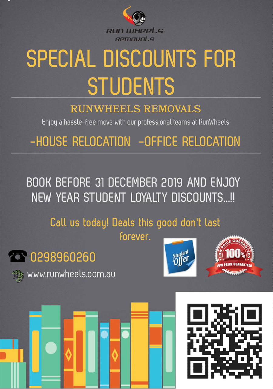Student Discount - Removal Service